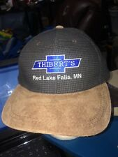 trucker hat baseball cap thiberts red lake falls chevy