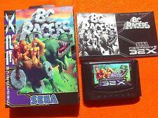 BC RACERS megadrive Sega 32x Pal version Like NEW