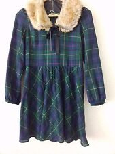 OLIVE des OLIVE Dress  Fur tippet from Japan  Sweet Kawaii Hime Gal Fashion