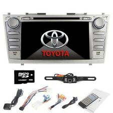 "8"" Car DVD Player Radio Stereo GPS Navigator fit for Toyota Camry 2007-2011+CAM"