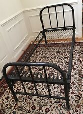 Vintage Antique Metal Iron Small Bed
