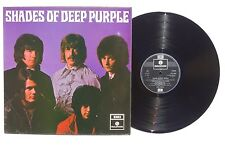 DEEP PURPLE Shades Of Deep Purple LP PARLOPHONE UK 1969 PCS7055 Glossy Cover NM-