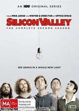 SILICON VALLEY: COMPLETE Season 2 DVD 2016 TV SERIES BRAND NEW RELEASE 2-DISC R4
