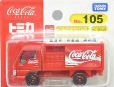 Tomy Tomica No.105 Coca Cola Truck Red Retired Blister Card