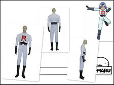 Pokemon Team Rocket James Cosplay Costume