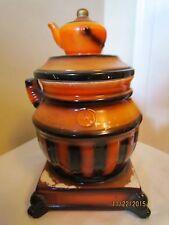 Vintage Pot Belly Stove Cookie Jar ~ Made in Japan
