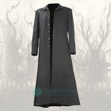 Matrix Long Gothic Trench Coat Gothic Coat