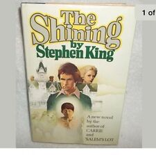The Shining By Stephen King - 1977, Hardback, Doubleday FIRST EDITION FREE SHIP