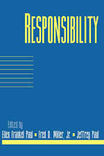 Responsibility: Volume 16, Part 2 (Social Philosophy and Policy) by Paul, Ellen