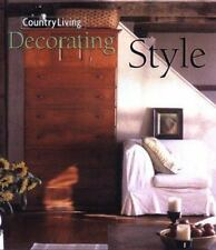 Country Living Decorating Style, , 0688167527, Book, Good