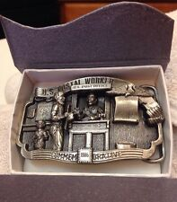 US Postal Worker Post Office Limited NUMBERED EDITION PEWTER BUCKEL