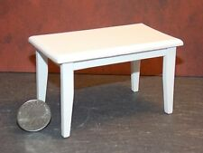Dollhouse Miniature White Kitchen Table 1:12 one inch scale F17 Dollys Gallery