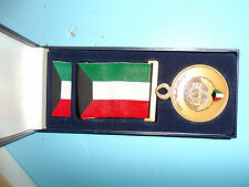 med085 Kuwait Liberation of Kuwait medal with box
