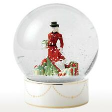 Royal Doulton Pretty Ladies Christmas Gifts Snow Globe NEW