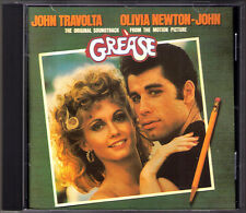 GREASE John Travolta Olivia Newton-Jones OST Jim Jacobs John Farrar Warren Casey