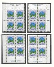 pk23835:Stamps-Canada #705 Bottle Gentian 1 ct Set of Plate Blocks-MNH
