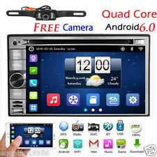 7'' HD Android 6.0 WIFI Double 2DIN Car Radio Stereo DVD Player GPS Navigation