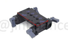 2 15mm railblocks w/ Tripod Mounting Plate for 15mm Rod clamp support DSLR Rig