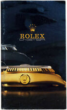 Vintage Rolex Oyster Booklet in English Very Rare 136.07 UK-38-11.1986