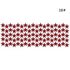 10/20/90pcs Star Wall Sticker For Kids Room Decor Easily Removable Waterproo