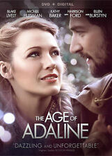 DVD MOVIE The Age of Adaline 2015 Harrison Ford Blake Lively