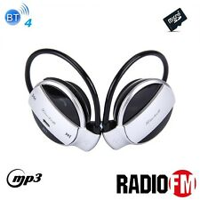 ^oc Cuffie sport Bluetooth 4 Radio FM mp3 player MicroSD telefonate mic vivavoce