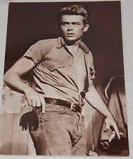 Postcard James Dean Black & White Unposted New #136-087