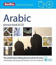 Berlitz Arabic Phrase Book & CD (Arabic Edition), Berlitz Publishing, New Books