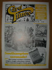 CARD TIMES MAGAZINE FORMERLY CIGARETTE CARD MONTHLY No 88 APRIL 1997