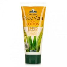 Aloe Pura Organic Aloe Vera Sun Lotion SPF50 High Protection 200ml