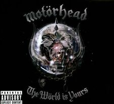 MOTORHEAD**WORLD IS YOURS(DIGI/ADVISORY)**CD+DVD