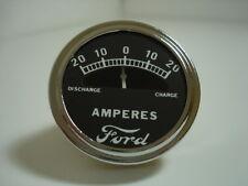 *Ammeter, Amp Meter 20-0-20, Ford Script *6v-12v  1928-1931