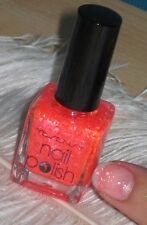 1 VERNIS A ONGLES YESENSY GLITTER COLLECTION PAILLETTE FLUO Pailleté 121 CORAIL