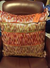 NWT Missoni Home Ribbon Tassel Silk Linen Feather Throw Decorative Pillow