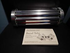 New Pampered Chef Bread Tube Scalloped Shape Cutter with Recipe Card
