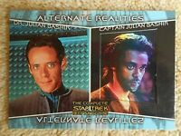 STAR TREK COMPLETE DS9 ALTERNATE REALITIES AR4 DR / CAPTAIN JULIAN BASHIR