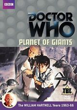 DOCTOR WHO PLANET OF THE GIANTS DVD NEW 2012 REGION 2