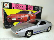 Eidai Grip 1/28 Scale 1800 Porsche 928 Road car in Silver Vintage diecast car