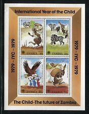 Zambia 199a  MNH 1979 Birds: African Fish Eagle - Haliaeetus vocifer x19018
