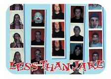 LESS THAN JAKE - Passport - Aufkleber / Sticker - Neu #174