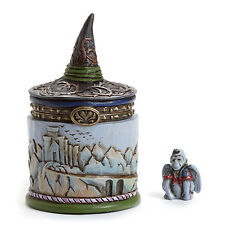 Jim Shore Wizard of Oz Wicked Witch Hat Treasure Box w/ Winged Monkey 4046417