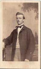 CDV photo Feiner Herr - Österreich um 1870