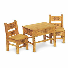 American Girl JOSEFINA TABLE & CHAIRS for Dolls Wood Dinner Furniture Josefina's