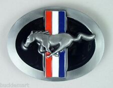 Classic FORD Mustang Tribar Belt Buckle GT Pony