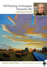 Oil Painting Techniques - Dramatic Sky by Brian Keeler DVD-Video Book