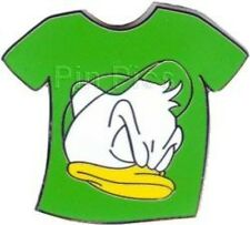 Disney Pin: WDW Cast Lanyard Series #3 - Duck T-Shirt (Green/Louie) With Mickey