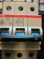 ABB S273 K6 K6A ~415 9491 K6 3 THREE POLE CIRCUIT BREAKER NEW Ships Quick