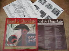 ELVIS COSTELLO & THE ATTRACTIONS Blood & Chocolate +inserts/inner sleeve IMP 86'