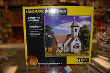 HO Woodland Scenics Pre-fab Building kit 5191 * Country Church * NIB