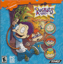 RUGRATS ALL GROWED-UP - Classic Nickelodeon Kids PC Game - BRAND NEW - SEALED